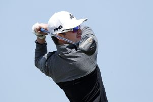 SAMSUN, TURKEY - APRIL 26: Connor Syme of Scotland tees off on the 15th hole during Day Two of Turkish Airlines Challenge at Samsun Golf Club on April 26, 2019 in Samsun, Turkey. (Photo by Luke Walker/Getty Images)