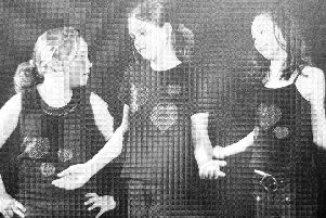 Pupils from Burntisland Primary School at the Fife Drama Festival in 2005