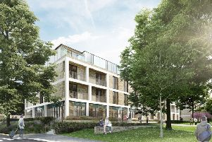 The proposed development at Abbey Park.
