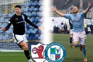 It's the battle of the goalscorers with Raith's Kevin Nisbet and Forfar's John Baird hoping to fire their respective teams to the Championship play-off final.