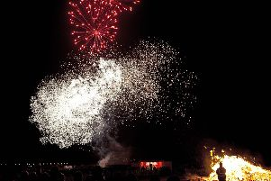 The bonfire and fireworks event attracts thousands to Burntisland