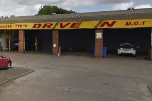 Drive in, Kirkcaldy - soon to be the site of a new David Sands store
