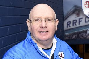 Raith Rovers Manager John McGlynn (All pics: Fife Photo Agency)