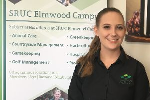 Amy Hardie is one of two students who will be working on the island.