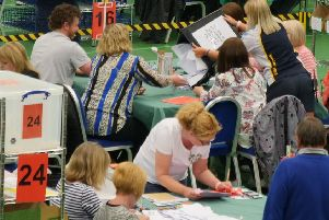 Fife EU election count (Pic: Andrew Beveridge)