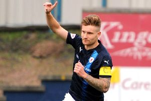 Raith Rovers defender Euan Murray. Pic: Fife Photo Agency