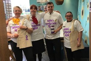 McDonalds staff have been working hard to raise funds for Brightons girl Ashlee Easton and her battle against cancer