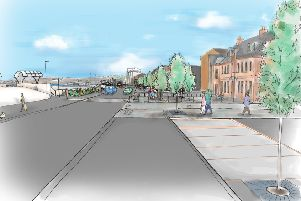 An artist's impression of how the Esplanade could look after the latest stage of the plans