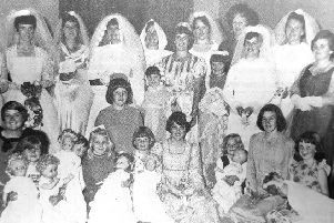 St Andrew's Church Young Women's Group in 1976.