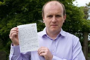 It would take a cold heart not to be moved by Colin Brown's letter to his daughter Eilish this Father's Day.