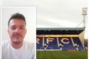 Darren Mackie has organised a charity game at Stark's Park.