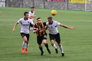 Anton Dowds was on the scoresheet for the Fifers.