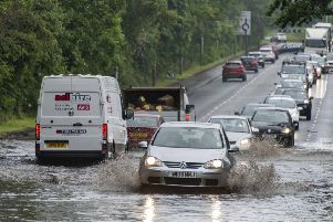 Floods could be possible over the next few days.