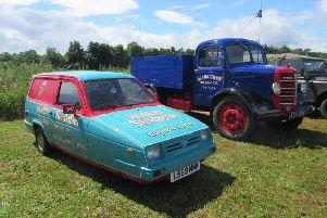 There were plenty of vehicles - in all shapes and sizes - on display at Leven Rally 2019.