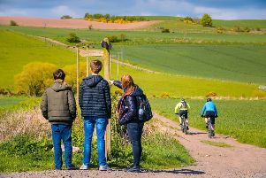 Markinch  forms part of the Pilgrim Way, a new long distance walking route. Pic: Fife Council/Damien Shields
