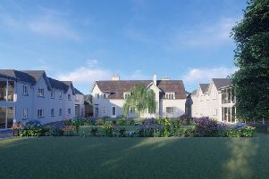 Artist's impression of new care home at 92 Hepburn Gardens.