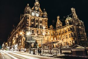 The Scotsman Hotel in Edinburgh.