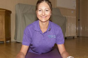 Amanda Funtastic fitness instructor, St Boswells.