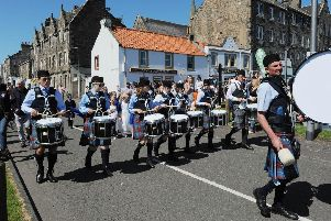 Were you at the Burntisland Highland Games?