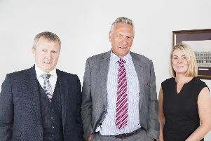 Innes Johnston Solicitors (L to R)  Stewart MacGregor, Tom Macaskill, Claire Forbes