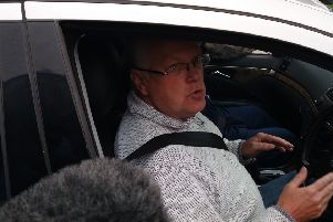 Martin Reilly - worker at Havelock - giving his reaction to the news the Kirkcaldy firm has gone into administration.