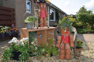 One of last year's entries in the Kinghorn scarecrow competition.