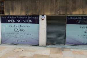 Purple Kitchens Bathrooms and Bedrooms is moving into the unit formerly occupied by Poundstretchers in the west end of Kirkcaldy High Street.