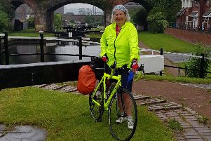 Inspiring story...Gill Caine has overcome health problems to run the social cycling club Puffin Cycling, which meets every Sunday for two hours of fun.