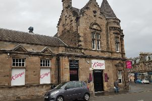 The event is taking place in Kitty's nightclub in Kirkcaldy.