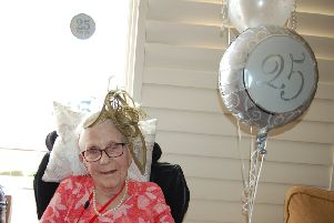 Residents celebrated the anniversary.