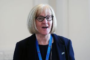 Cathie Cowan, NHS Forth Valley Chief Executive.