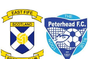 East Fife v Peterhead
