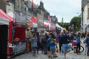 The annual Lammas Market in St Andrews. Picture by Jamie Callaghan.