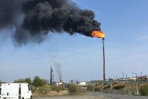 The ExxonMobil operated plant had been flaring since late on Monday night.