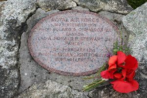 A short service will be held at the Air Crew Memorial Cairn led by Rev Joshual Mikelson.