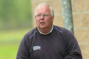 Jim McCafferty,  former youth coach and kitman at Falkirk, pictured during his time with the club.