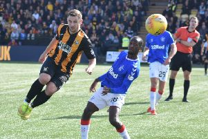 Ryan Wallace v Rangers
