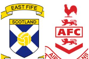 East Fife v Airdrieonians.