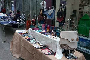Makers Market stall.