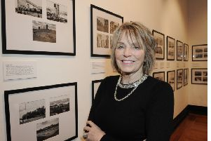 Kirkcaldy Photographic Society chairman Cathy Davis said the exhibition offers a unique celebration of the town. Pic: George Mcluskie.