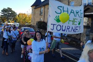 More than 100 people took part in Midlothian Sure Start's procession through Dalkeith in 2018