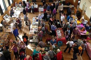 A busy scene from Tarland Food and Music Festival