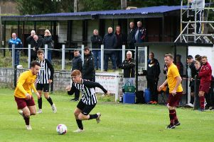 Newburgh will aim to bounce back when they host Sauchie. Pic by Graham Strachan.