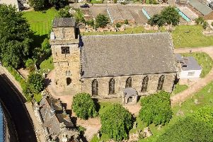 Aerial view of Kirkcaldy Old Kirk. Pic courtsey of Kirkcaldy Old Kirk Trust.