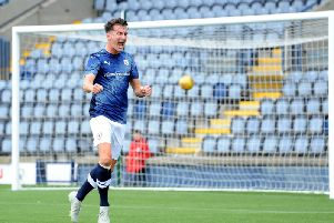 Grant Anderson has scored four goals in seven league games for Raith Rovers this season. Pic: Fife Photo Agency