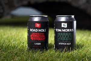 Collaboration between the Home of Golf and St Andrews Brewing Company has created Road Hole Lager and Tom Morris Scotch Ale. Pic: St Andrews Links Trust.