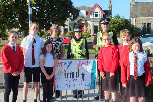 Jenna, Edie, Keira, Ms Duncan, PC Claire Laing, PC Adam, Brogan, Mitchell and Maggie.