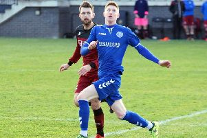 Kyle Wilson, Dundonald Bluebell. Pic: George Wallace