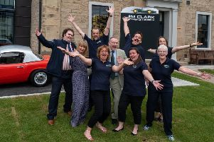 The crew at the Jim Clark Memorial Museum is ready to welcome you (picture by Tony Marsh)