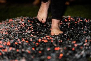 The Maggie's Fife firewalk is taking place on November 14 at Balbirnie House Hotel in Markinch.